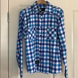 Saga men's cotton shirt size large